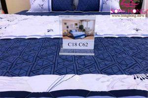 Mẫu chăn ga gối classic cotton mã C18-C62