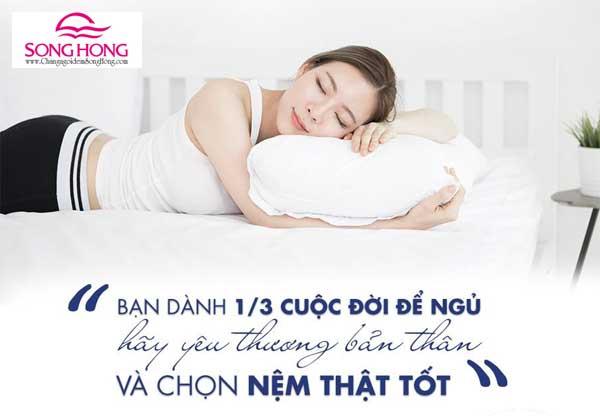 Một chiếc đệm tốt giúp giấc ngủ ngon hơn