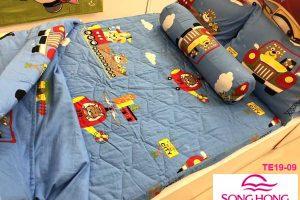 Bộ chăn ga gối trẻ em mã TE19-09