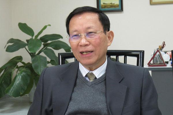 Ông Bùi Đức Thịnh - Chủ tịch HĐQT công ty May Sông Hồng