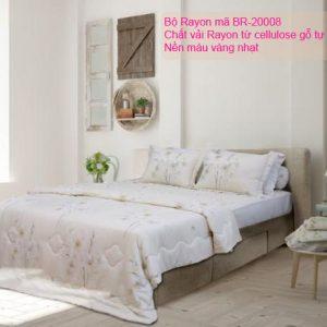 Bộ chăn ga gối Rayon mã SHBR-20008