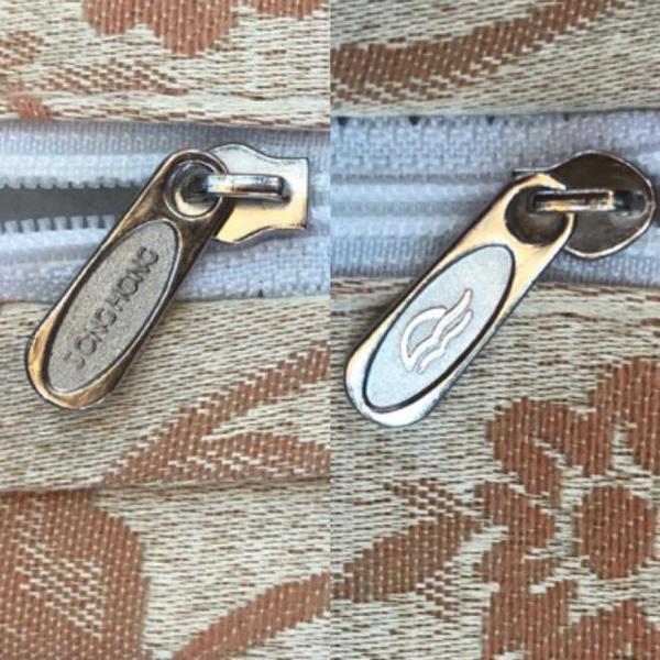 khóa kéo của vỏ đệm Sông Hồng fake