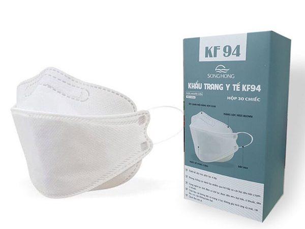 Khẩu trang y tế KF94 do Sông Hồng sản xuất