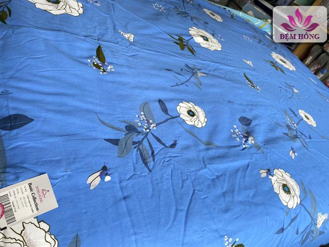 Vỏ chăn xuân thu Sông Hồng chính hãng 100% cotton mã C75